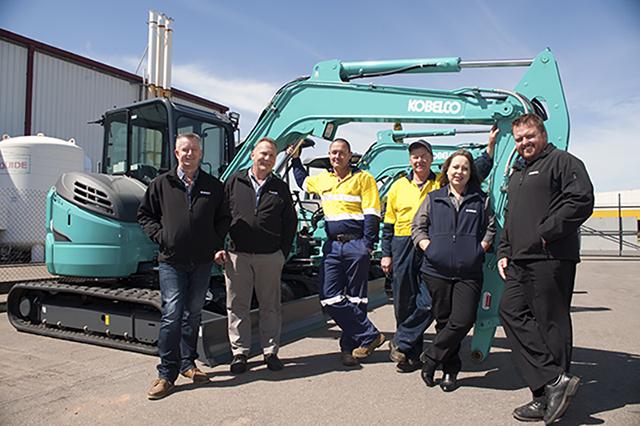 Booming South Australian infrastructure relies on efficient Kobelco excavators